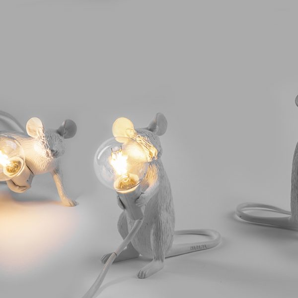 Mouse lamp standing moma arredi for Moma arredi